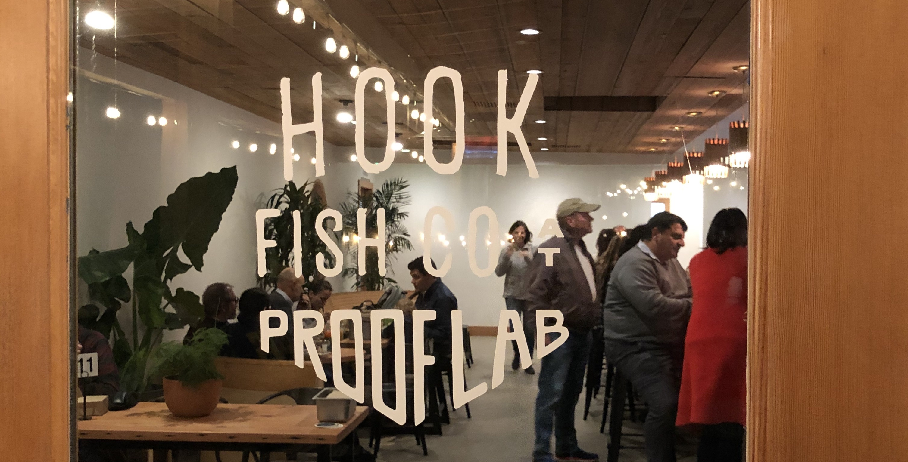 Hook Fish Co at Proof Lab