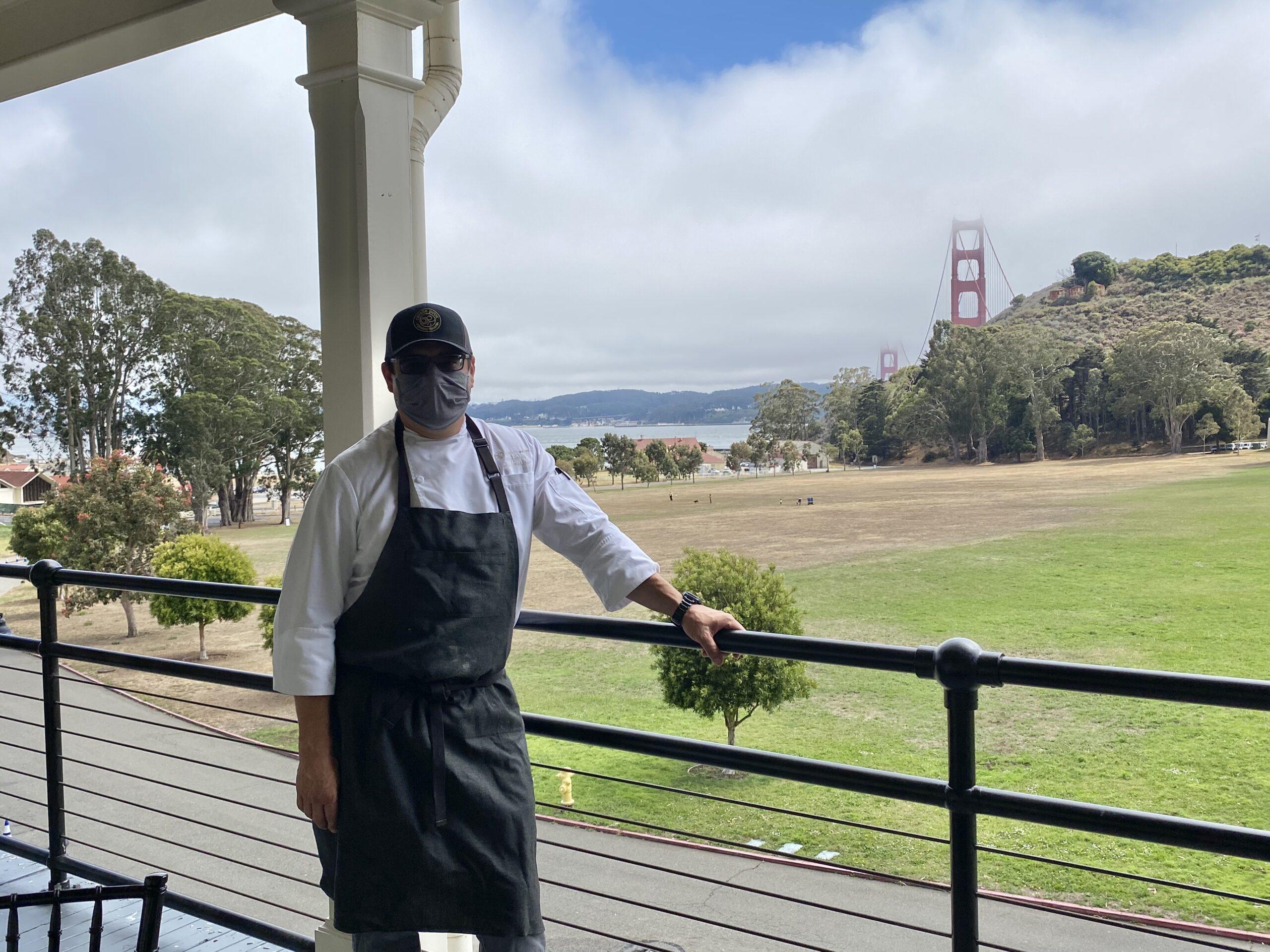 Executive Chef, Michael W. Garcia, Murray Circle Restaurant